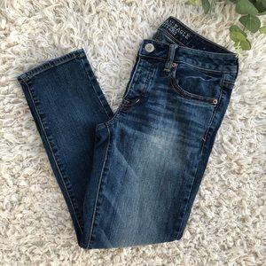 American Eagle boy crop stretch jeans